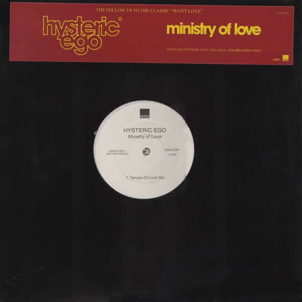 Hysteric Ego ‎– Ministry Of Love