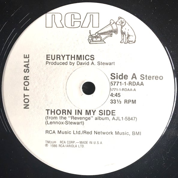 Eurythmics ‎– Thorn In My Side