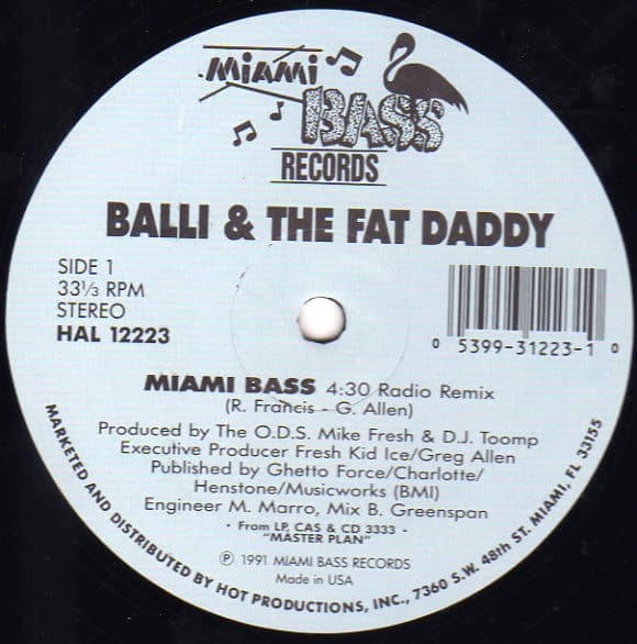 Balli and The Fat Daddy – Miami Bass