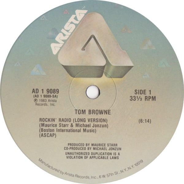 Tom Browne - Rockin' Radio