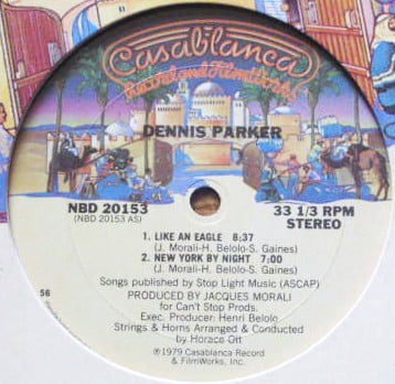 Dennis Parker ‎– Like An Eagle / New York By Night