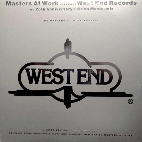 Masters At Work ‎– West End Records – The 25th Anniversary Edition Mastermix (The Masters At Work Remixes)