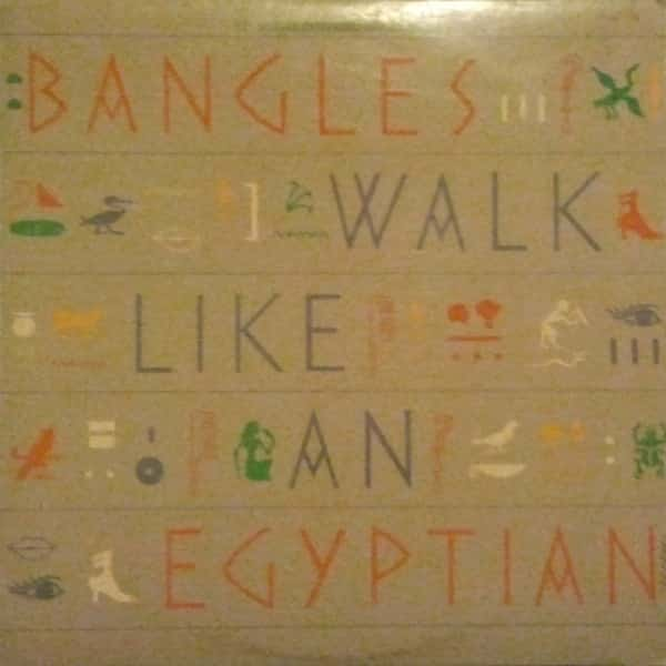 Bangles ‎– Walk Like An Egyptian (12″ Single Extended Dance Mixes)