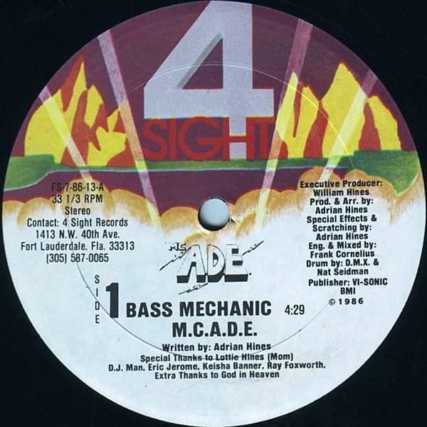 M.C.A.D.E. - Bass Mechanic
