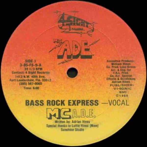 MC ADE - Bass Rock Express