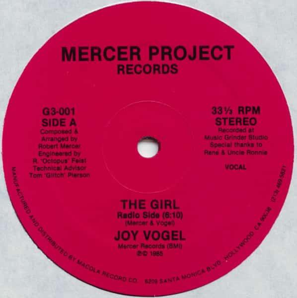 Joy Vogel - The Girl