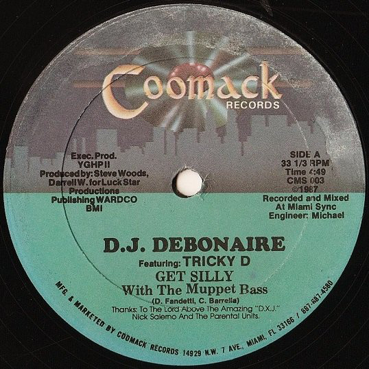 D.J. Debonaire Featuring: Tricky  ‎- Get Silly With The Muppet Bass