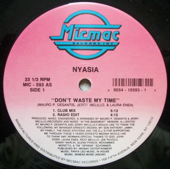 Nyasia ‎- Don't Waste My Time