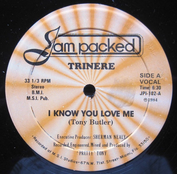 Trinere ‎- I Know You Love Me