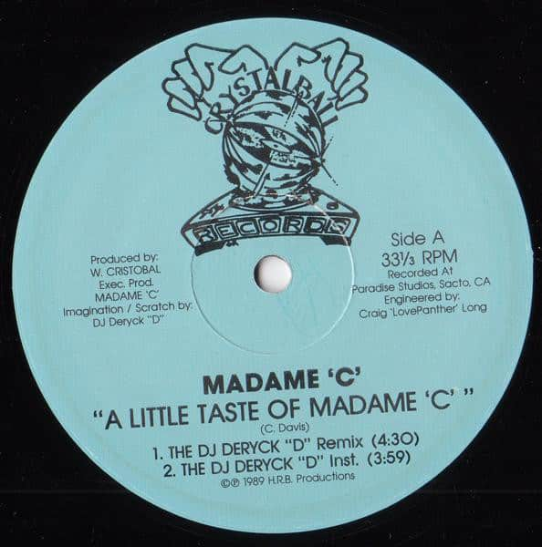 Madame 'C' - A Little Taste Of Madame 'C'