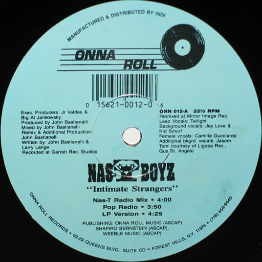 Nas-T Boyz - Intimate Strangers