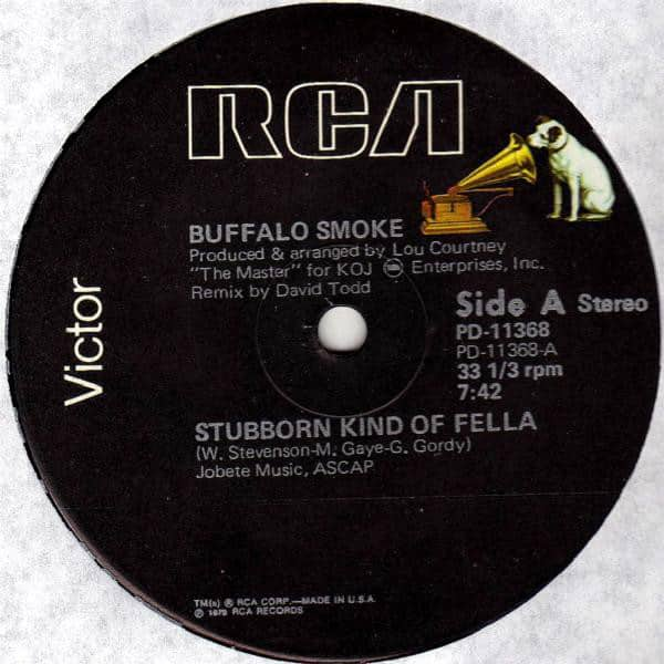 Buffalo Smoke ‎- Stubborn Kind Of Fella