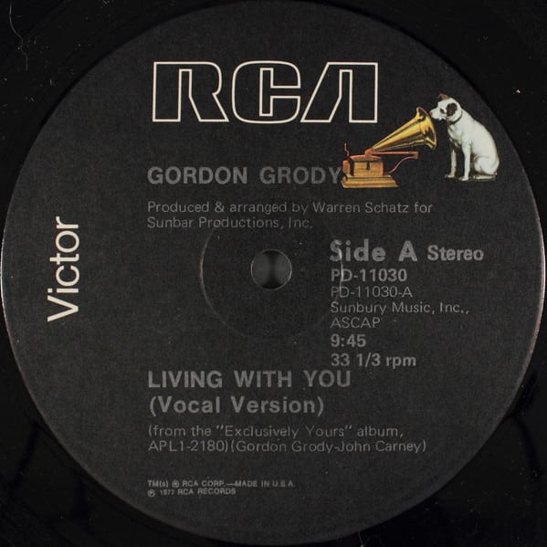 Gordon Grody – Living With You