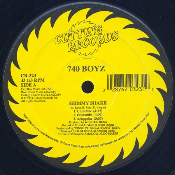 740 Boyz / Bass'Ed On This ‎- Shimmy Shake / Bass Of The Soul