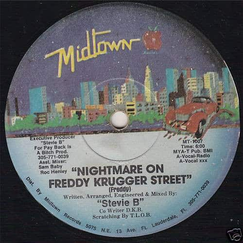 """Stevie B"" – Nightmare On Freddy Krugger Street"