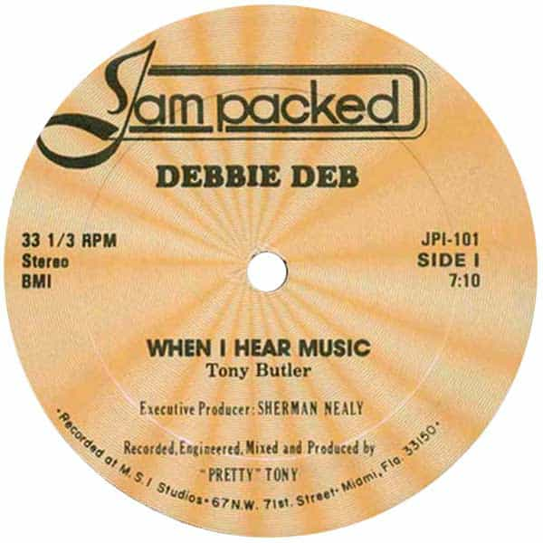 Debbie Deb – When I Hear Music