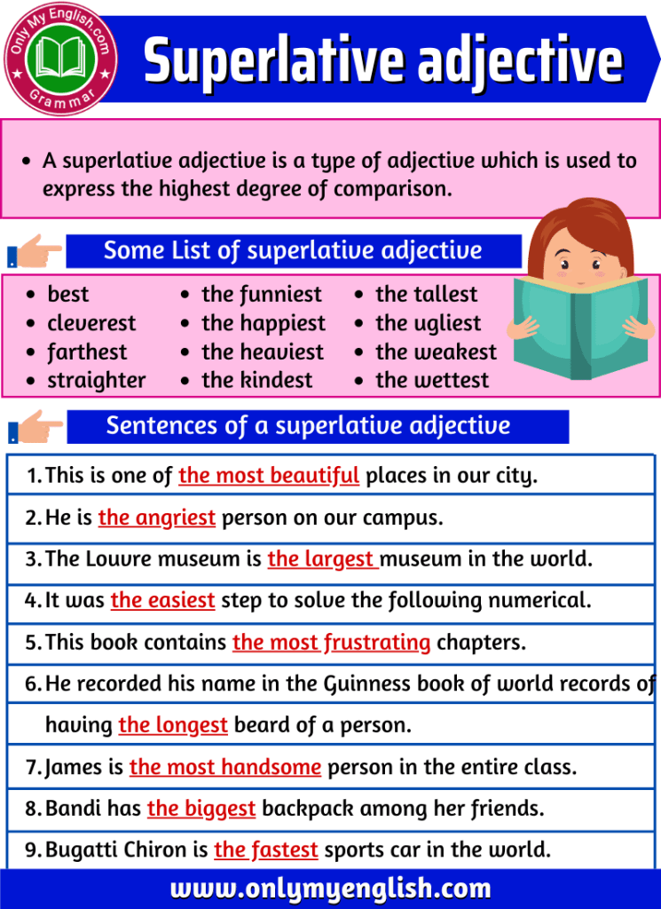 superlative adjective