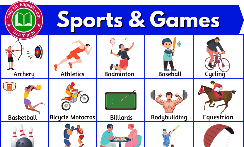 Types of Sports: Names of Different Types of Sports and Games