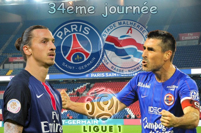 resume match caen psg