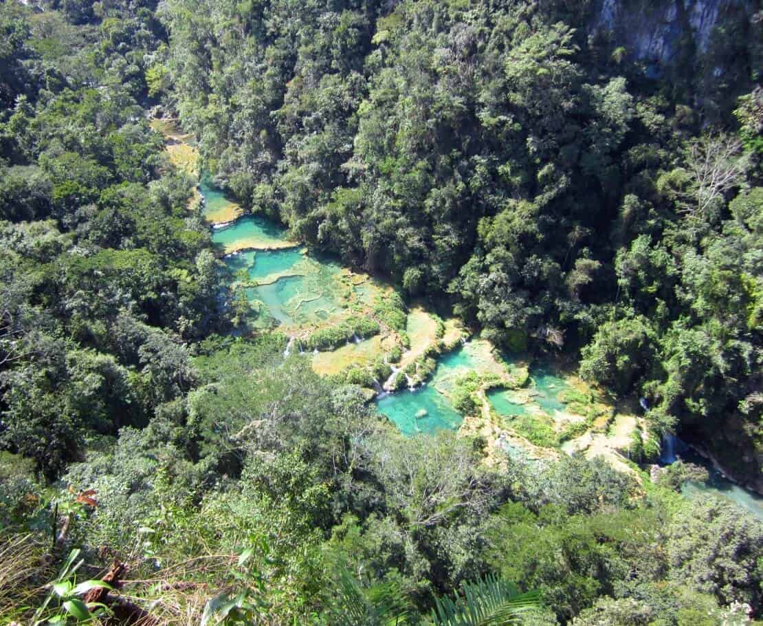 Semuc Champey - Natural wonder in Guatemala