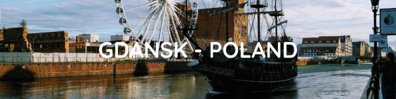 Interrail Itinerary Central and Eastern Europe - Gdansk