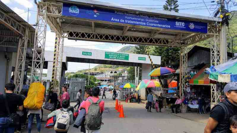 La Mesilla Guatemala Border