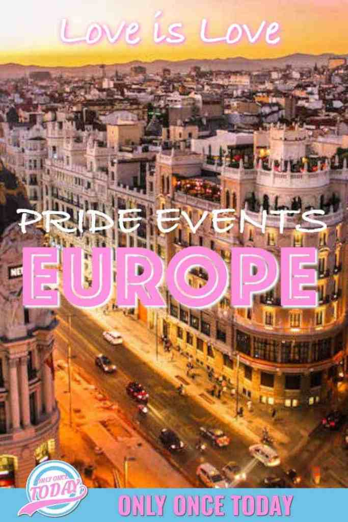 Pride events in Europe