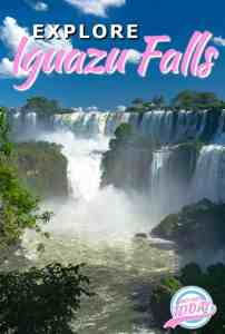 Iguazu Falls at the Brazil and Argentina side