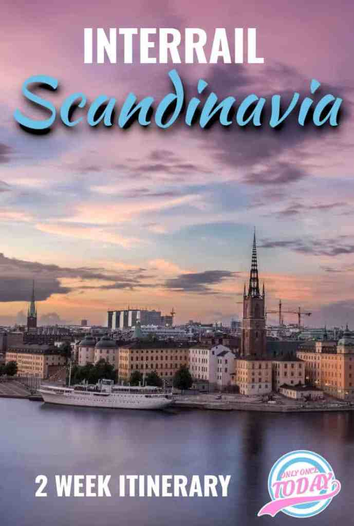 Interrail Scandinavia Itinerary
