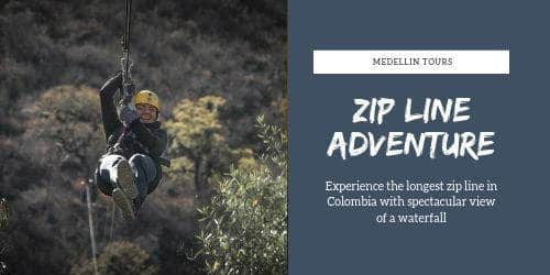 Medellin zip lining