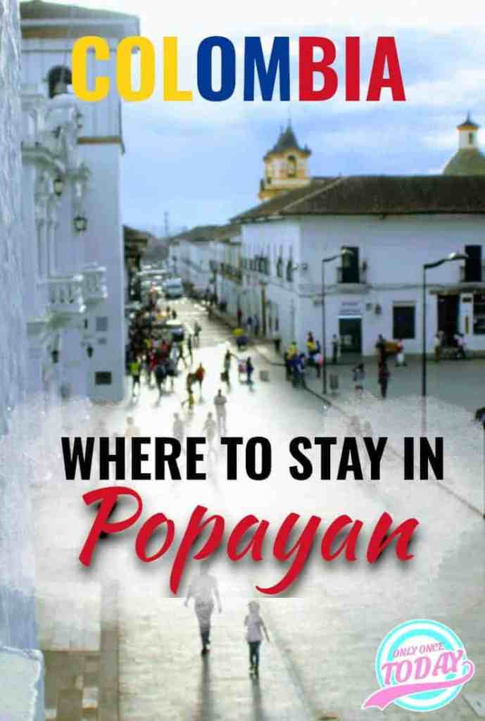 The 3 very best hostels in Popayan to narrow down your search for a great bed!
