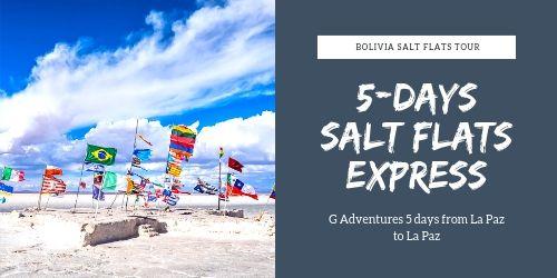 5 days on the Salar de Uyuni with G Adventures