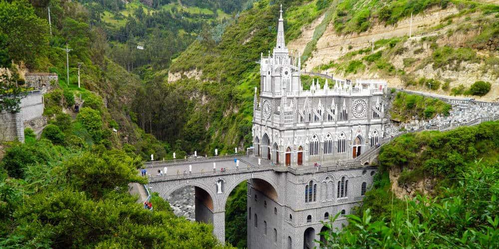 Las Lajas Sanctuary Ipiales Colombia