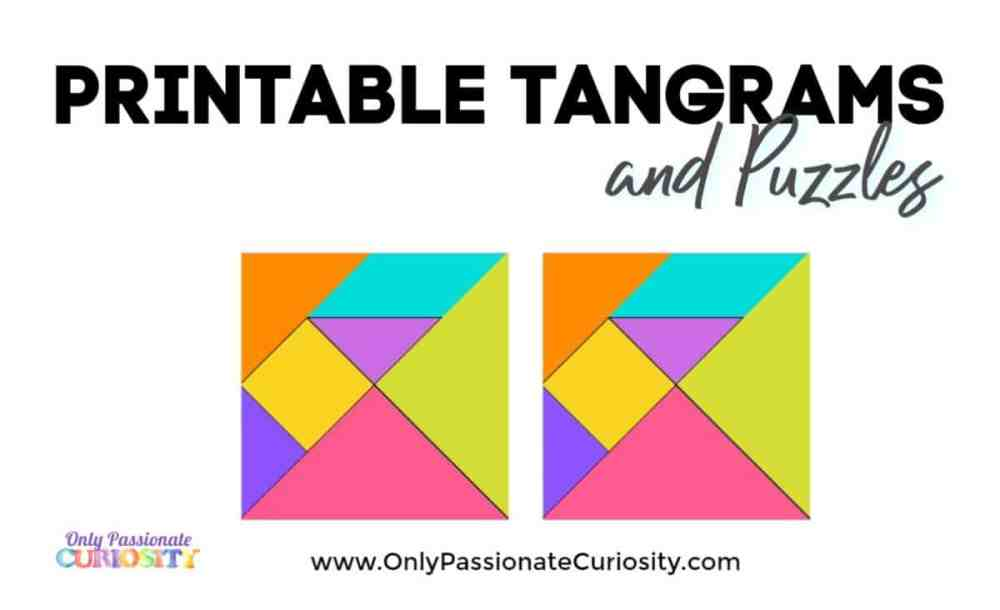 medium resolution of Tangrams - Only Passionate Curiosity
