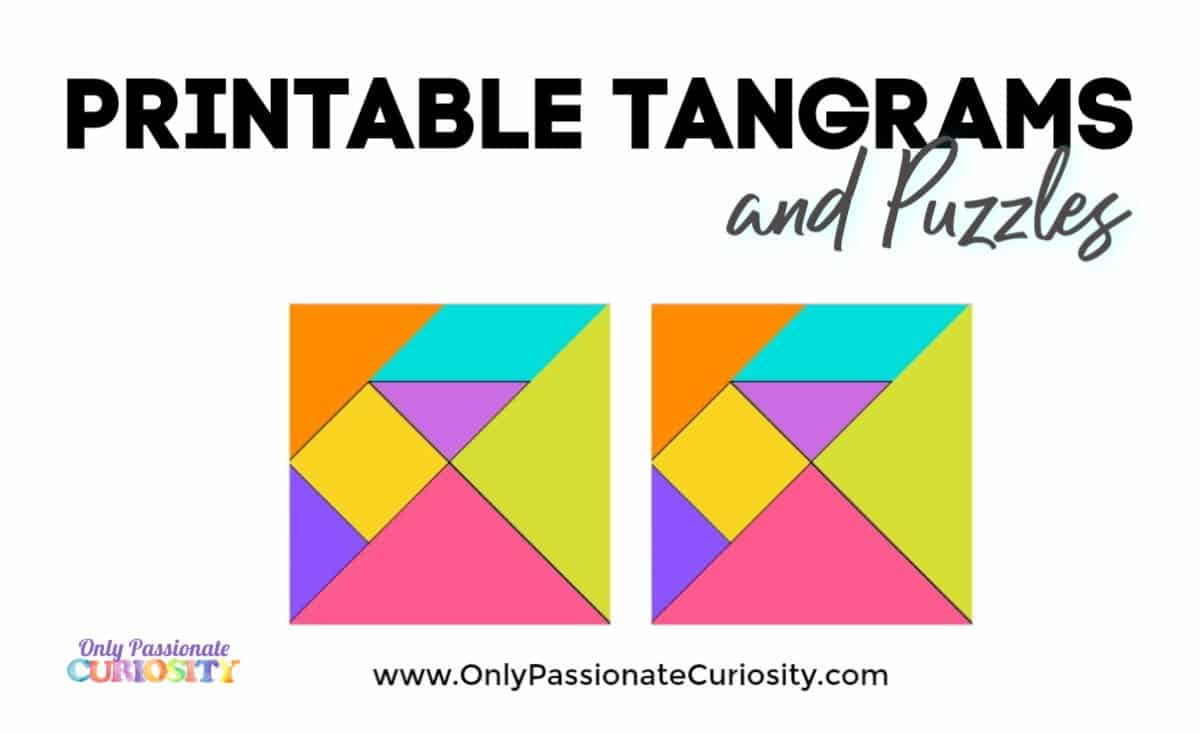 hight resolution of Tangrams - Only Passionate Curiosity