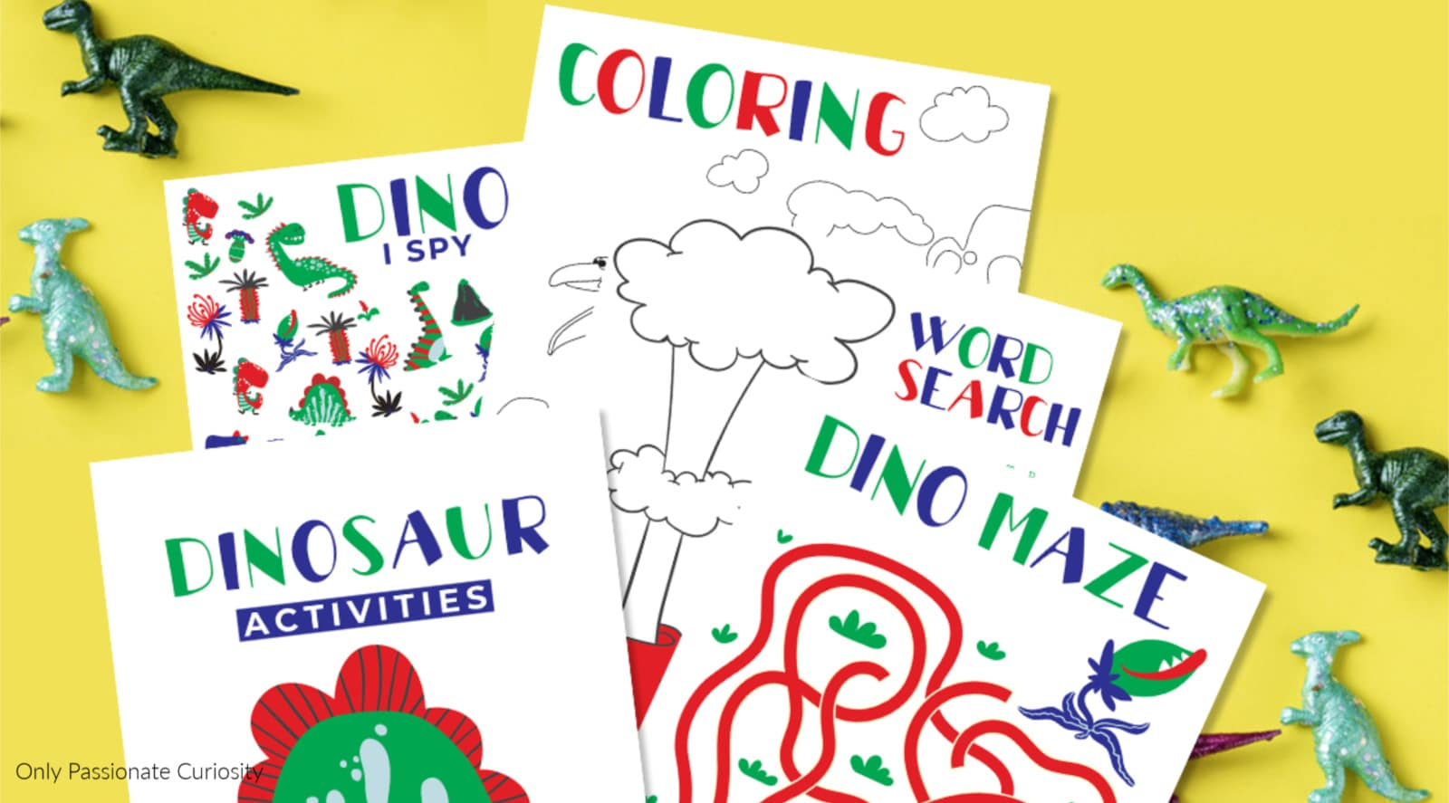 Dinosaur Activity Pages For Kids