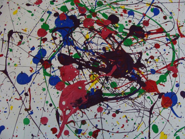 Dripping Paint With Pollock - Passionate Curiosity