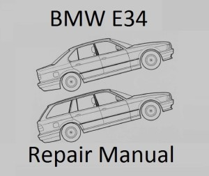 BMW 5 Series E34 Repair Manual