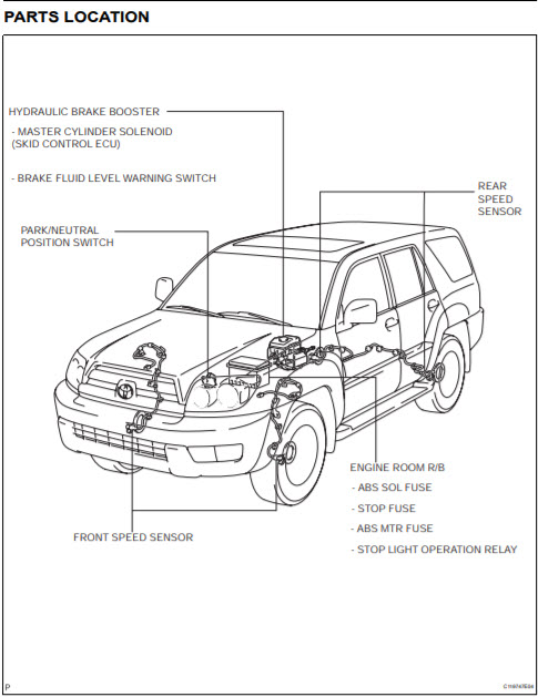 Toyota 4Runner Repair Manual PDF