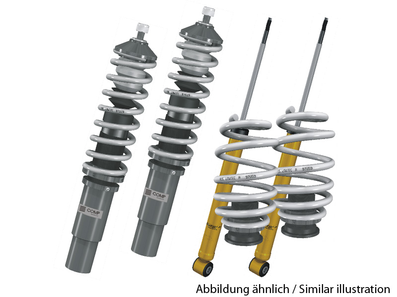 Lowtec COMP coilovers Alfa Romeo 155 adjustable suspension