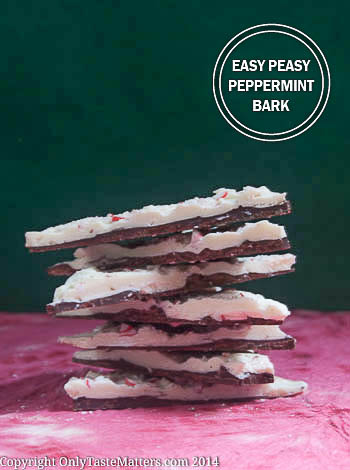 Make delicious last-minute #Christmas gifts with this Easy Peasy #PeppermintBark! #gfree #ontheblog