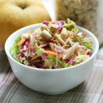 Smokey Sweet Peanut Slaw | Savoring Saturdays