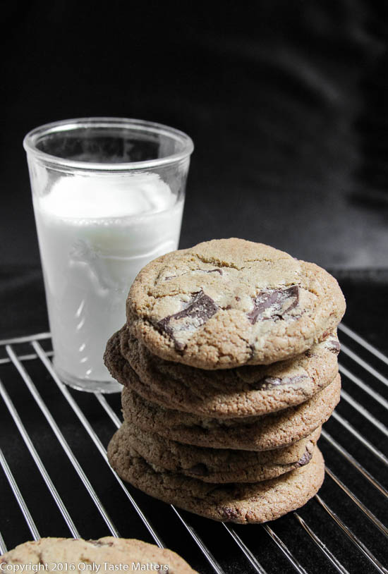 The Ultimate Chocolate Chip Cookie #glutenfree | Only Taste Matters