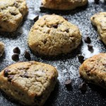 Chocolate Chip Scones {gluten free} and a Gluten-free Mother's Day Afternoon Tea Menu