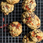 Chocolate Chip, Goji Berry and Pistachio Cookies {Paleo}