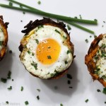 Paleo Sweet Potato Hash Brown Egg Cups