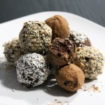 Easy Paleo Chocolate Ganache Truffles