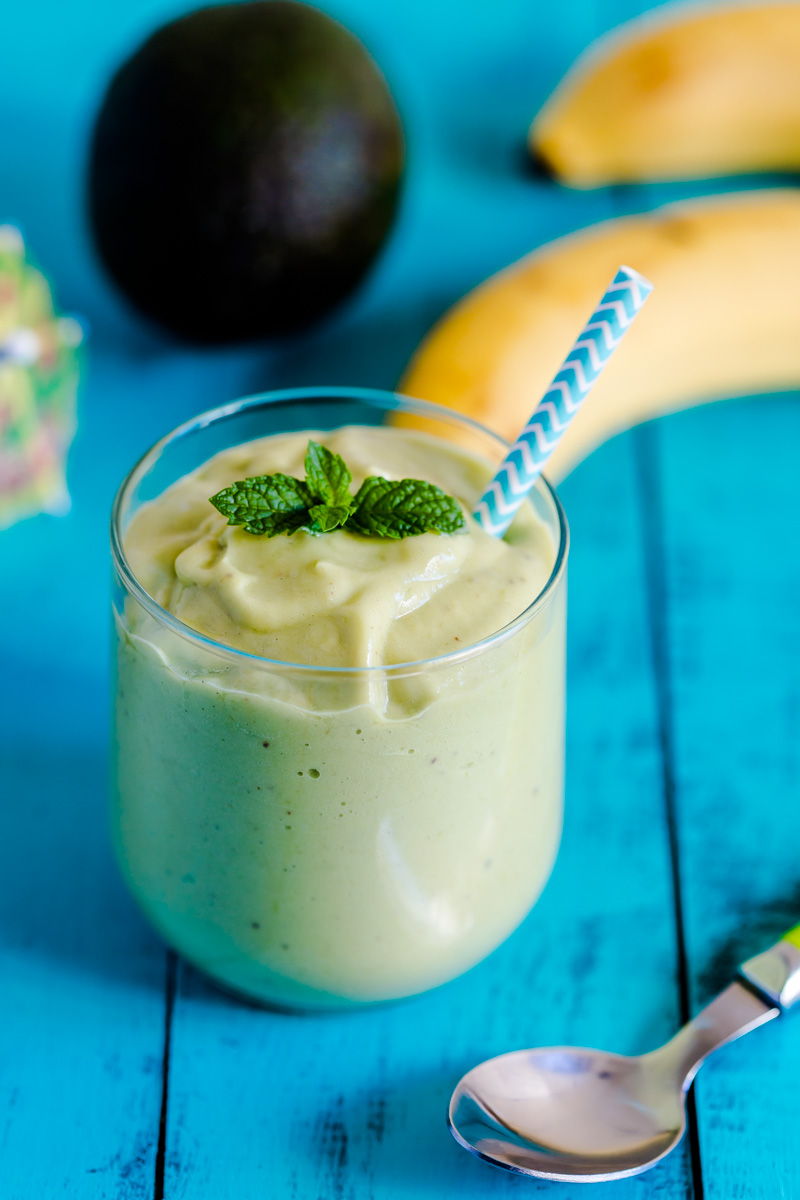 Paleo Avocado Coconut Smoothie | Only Taste Matters