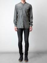 Neil Barrett Distressed Denim Shirt 2