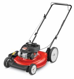 2 yard machines 140cc 21 inch push mower review [ 1024 x 1024 Pixel ]